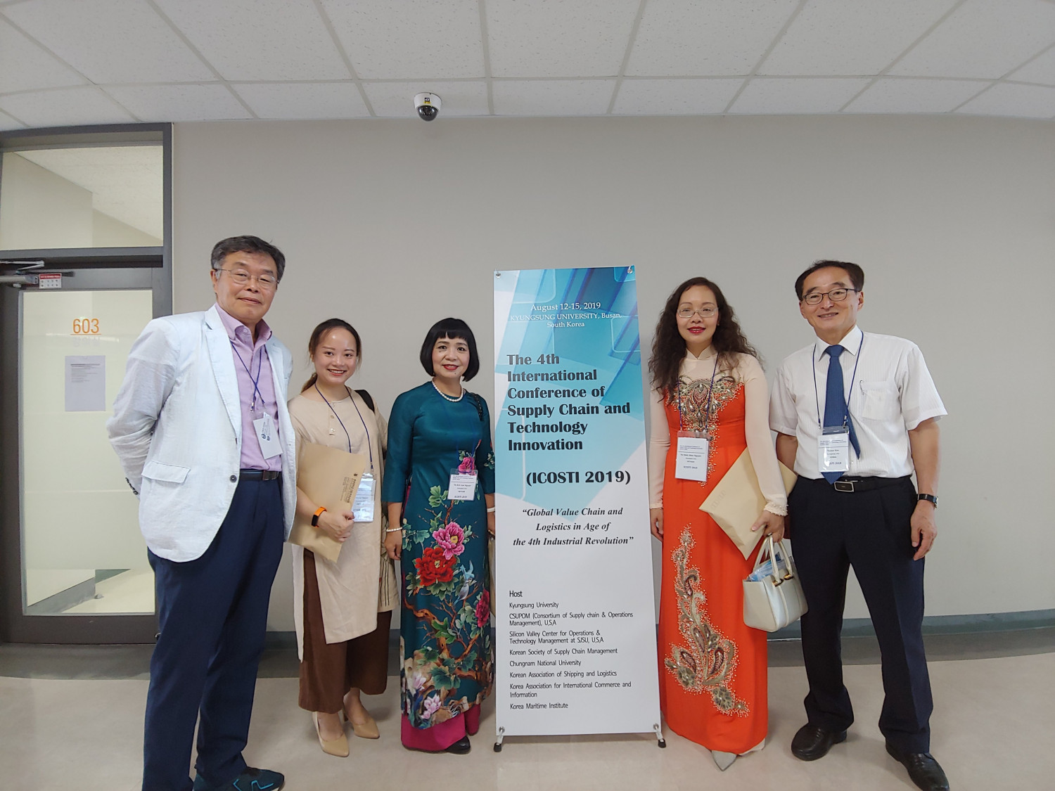 Thuongmai University participation in the International Conference of Supply Chain and Technology Innovation ICOSTI 2019